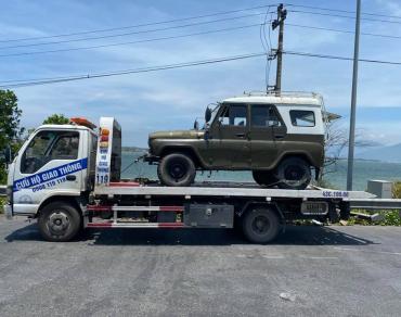 Cứu hộ giao thông Hòa Khánh